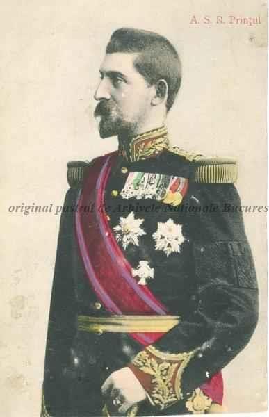 BU-F-01073-5-00028 Ferdinand I, Rege al României (1914-1927), Principe al României (1889-1914), Principe de Hohenzollern-Sigmaringen (1865-1927), s. d. (sine dato) (niv.Document)