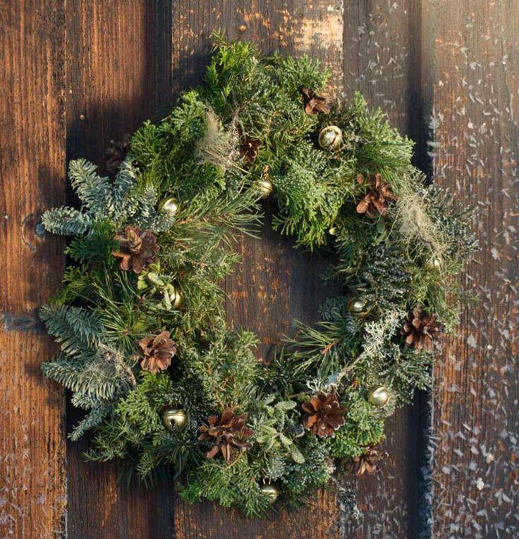 Bind en krans-vintergrønn