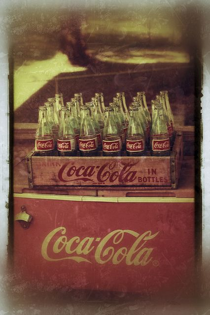 antique coca cola