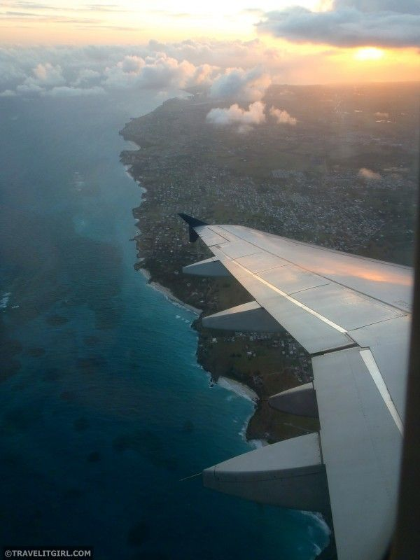Flight Into Barbados 8771 best BARBADOS images