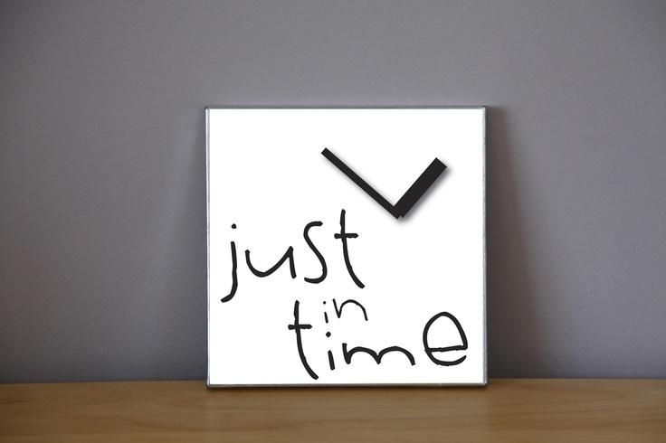 Reloj de pared en zinc