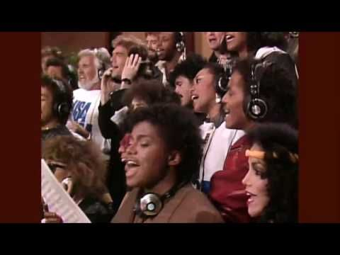 Michael Jackson - WE ARE THE WORLD -  HD STEREO - USA for Africa. Grammy Award Song of the Year 1986