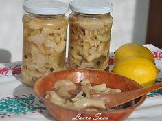 Ciuperci marinate | Retete culinare cu Laura Sava
