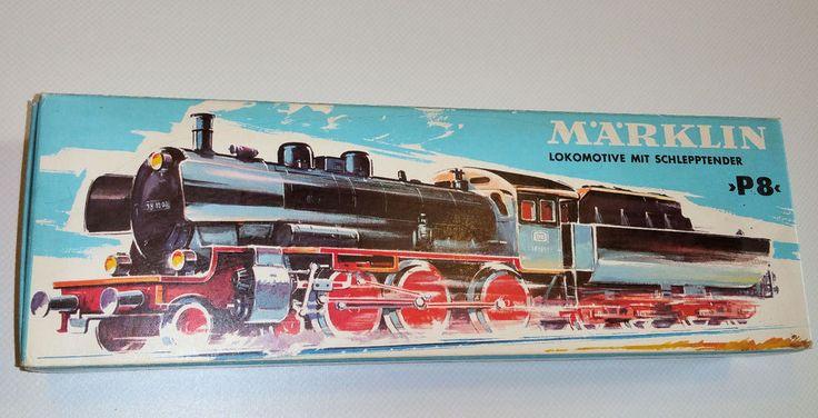 Märklin 3098, Dampflok, P8, DB, 38 1807, OVP in Modellbau, Modelleisenbahn, Spur H0   eBay