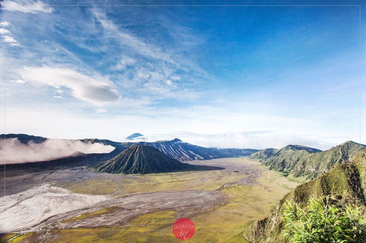 Volcano Bromo oj Java, #Indonesia - beautiful place for #travel and #trekking in #asia