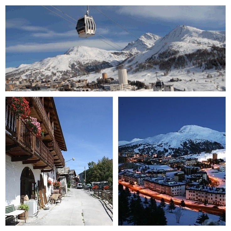Skiing Sestriere, Italy