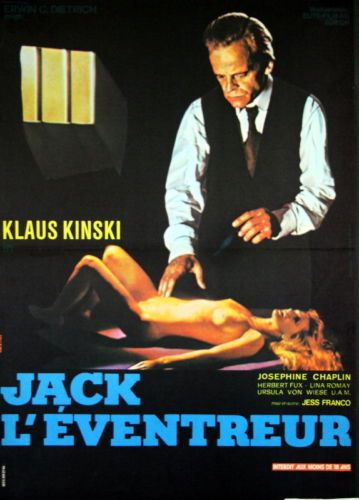 Klaus-Kinski-Josephine-Chaplin-JACK-LEVENTREUR-Jesus-Franco-1976-40x60