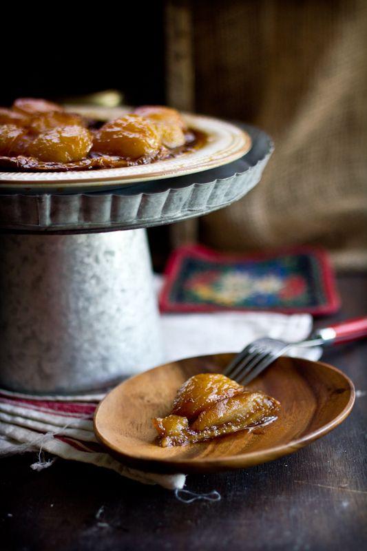 Adventures in Cooking: Toffee Apple Tart Tartin with Vanilla Filo Crust