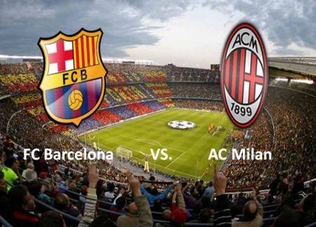 Barcelona x Milan Ao Vivo Jogo Barcelona x Milan Ao Vivo
