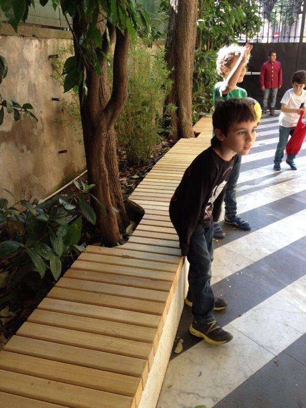 Po garden bench