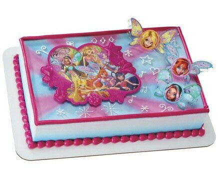 Friends Cake Children Fairy Cakes Winx Club Hot Pink Ideas