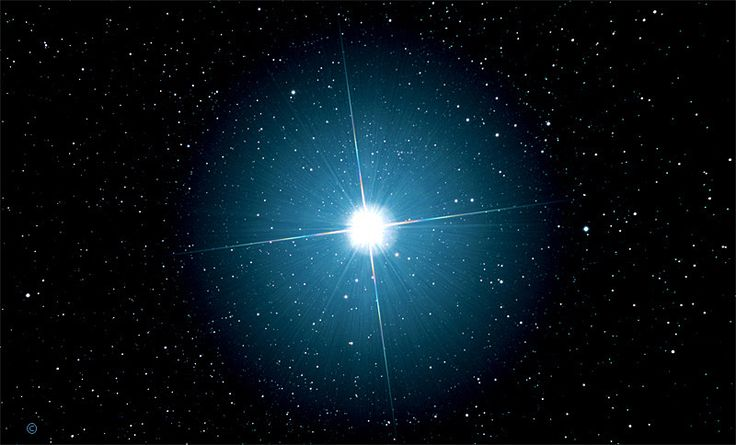 Sirius - brightest star | Sirius star, Astronomy, Star system