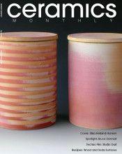 Ken Gangbar Studio is featured in this months Ceramics Monthly. #GangbarArt #ArtInstallation #ceramicsmonthly   FC_Apr16CMweb600