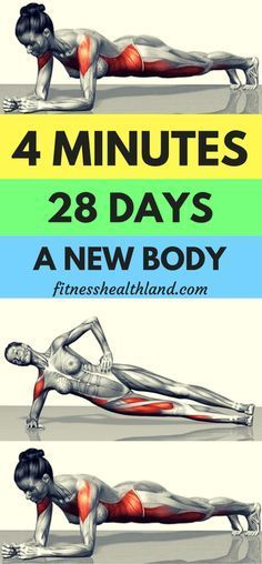 Strengthen Your Core With This 28-Day Planking Cha…
