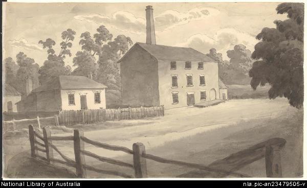 Wickford Mill, Longford by John Glover