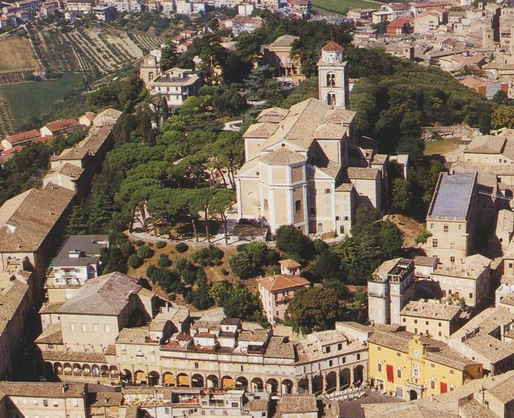 Fermo is a town & comune of the Marche, Italy, in the Province of Fermo. Fermo is located on a hill, the Sabulo with a fine view, on a branch from Porto San Giorgio on the Adriatic coast railway.