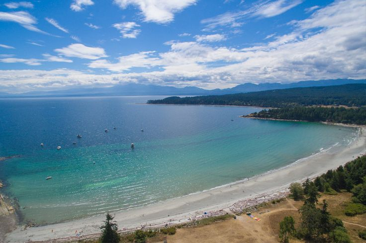 Tribune Bay Campground   Hornby Island BC