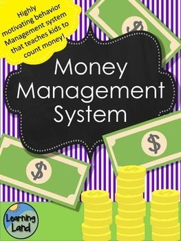 Behavior Management System - With Money! This behavior management system taps…