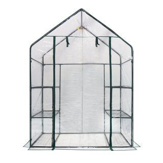 oGrow Deluxe 6-Shelf Walk-in Portable Greenhouse $62.69 on Overstock.com