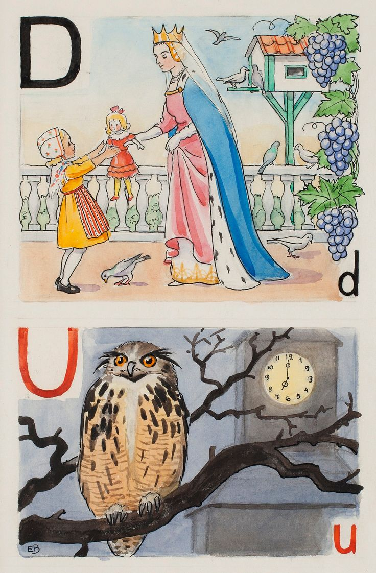 Elsa Beskow : Swedish Alphabet