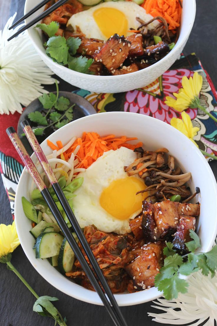 PaleOMG Pork Belly Bibimbap