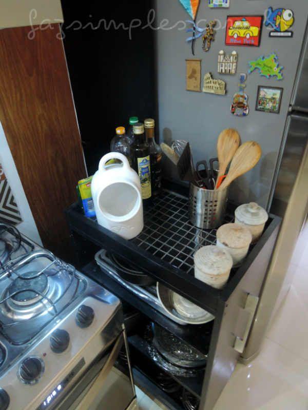 Armario De Cozinha Multiuso Como Fazer Gastando Pouco Armario