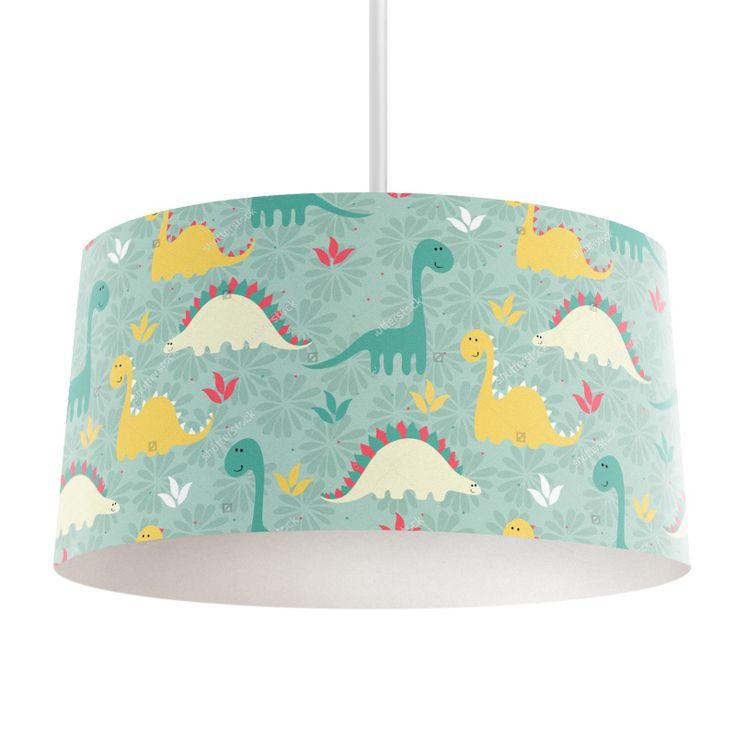 Lampenkap Dino's | Bestel lampenkappen voorzien van digitale print op hoogwaardige kunststof vandaag nog bij YouPri. Verkrijgbaar in verschillende maten en geschikt voor diverse ruimtes. Te bestellen met een eigen afbeelding of een print uit onze collectie. #lampenkap #lampenkappen #lamp #interieur #interieurdesign #woonruimte #slaapkamer #maken #pimpen #diy #modern #bekleden #design #foto #jongenskamer #jongen #stoer #babykamer #baby #dino #dinosaurus