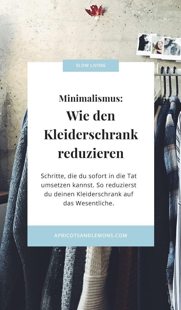 Simple Minimalismus Wie den Kleiderschrank reduzieren