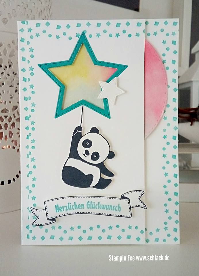 stampin up party pandas panda panda pinterest panda cards and card ideas. Black Bedroom Furniture Sets. Home Design Ideas