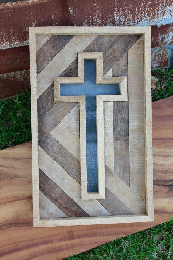 Rustic Handmade Cross by CashdanCraftsmen on Etsy
