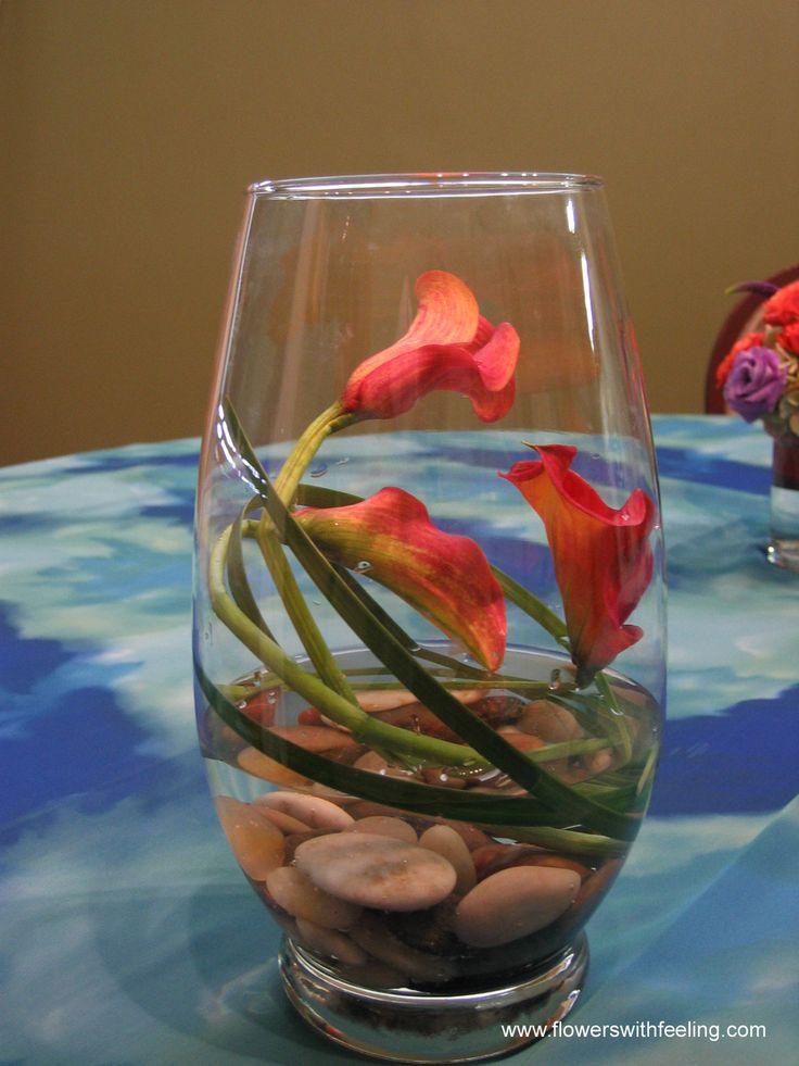 Cheap Wedding Centerpieces Ideas | Inexpensive Calla Lily Wedding Centerpiece Ideas - Yahoo! Voices ...