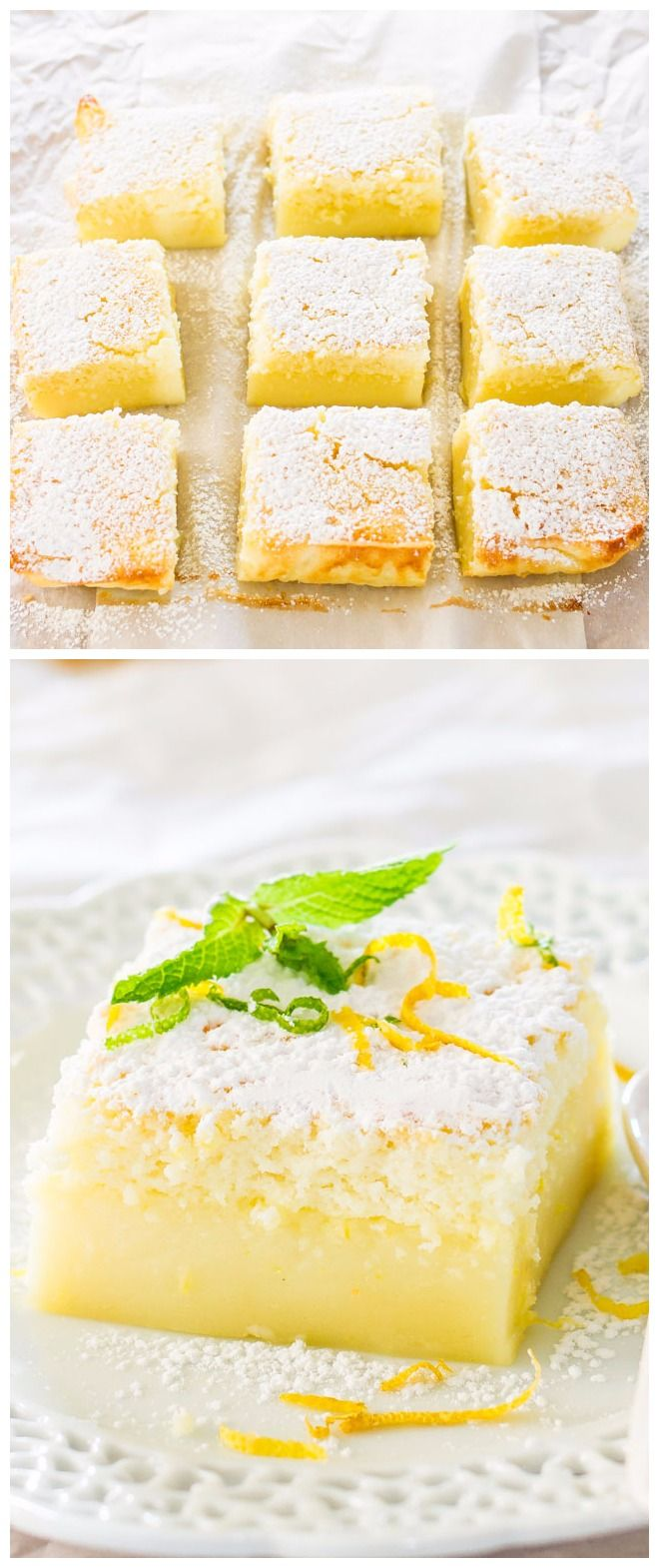 Lemon Magic Cake Ingredients: 4 eggs (separate yolks from whites) at room temperature 1 tsp vanilla extract 150 g (3/4 cup) sugar 125 g (1 stick or ½ cup) butter, melted 115 g (4 oz or ¾ cup...