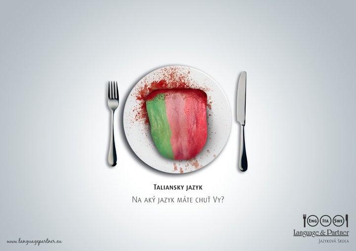 Print pre jazykovú školu LanguagePartner - Taliansky jazyk :P