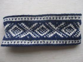 ♥ Hobbyfruen ♥: Marius pannebånd og en halvferdig genser