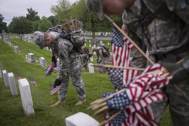 "Something to ponder: ""I'm a veteran, and I hate 'Happy Memorial Day.' Here's why."" - The Washington Post"