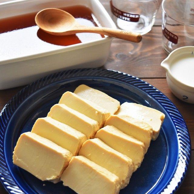 簡単作りおきー豆腐の卵黄味噌漬け ー アーモンドチョコクッキー*今日のお昼ごはん*