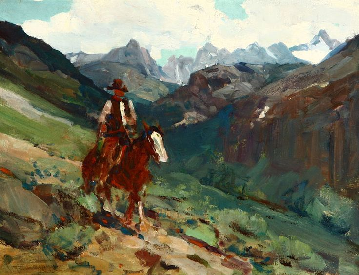 37 best Cowboy and Western Art images on Pinterest | Western art, Auction and Oil on canvas