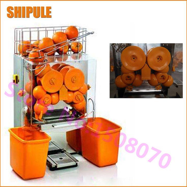 110V 220v stainless steel electric citrus orange juicer juicing machine orange juice press squezzer exractor machine #Affiliate