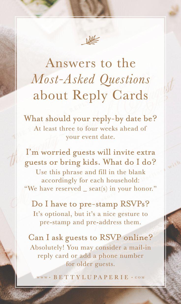 wedding rsvp card wording