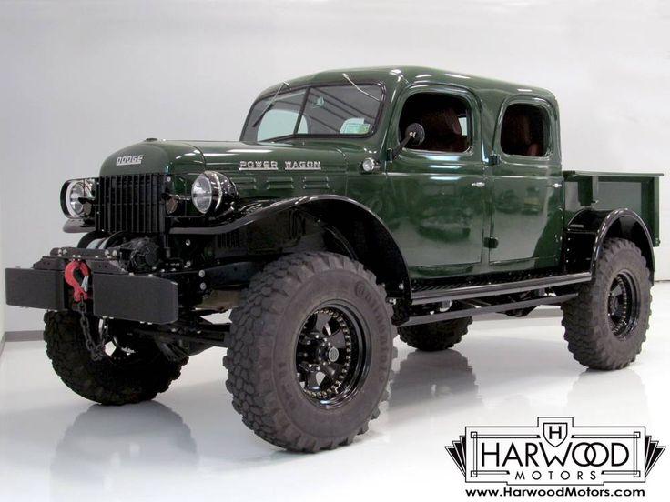 1947 Dodge Power Wagon Crew Cab Pickup