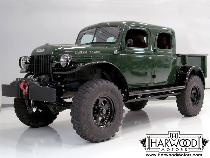 1947 Dodge Power Wagon Crew Cab Pickup