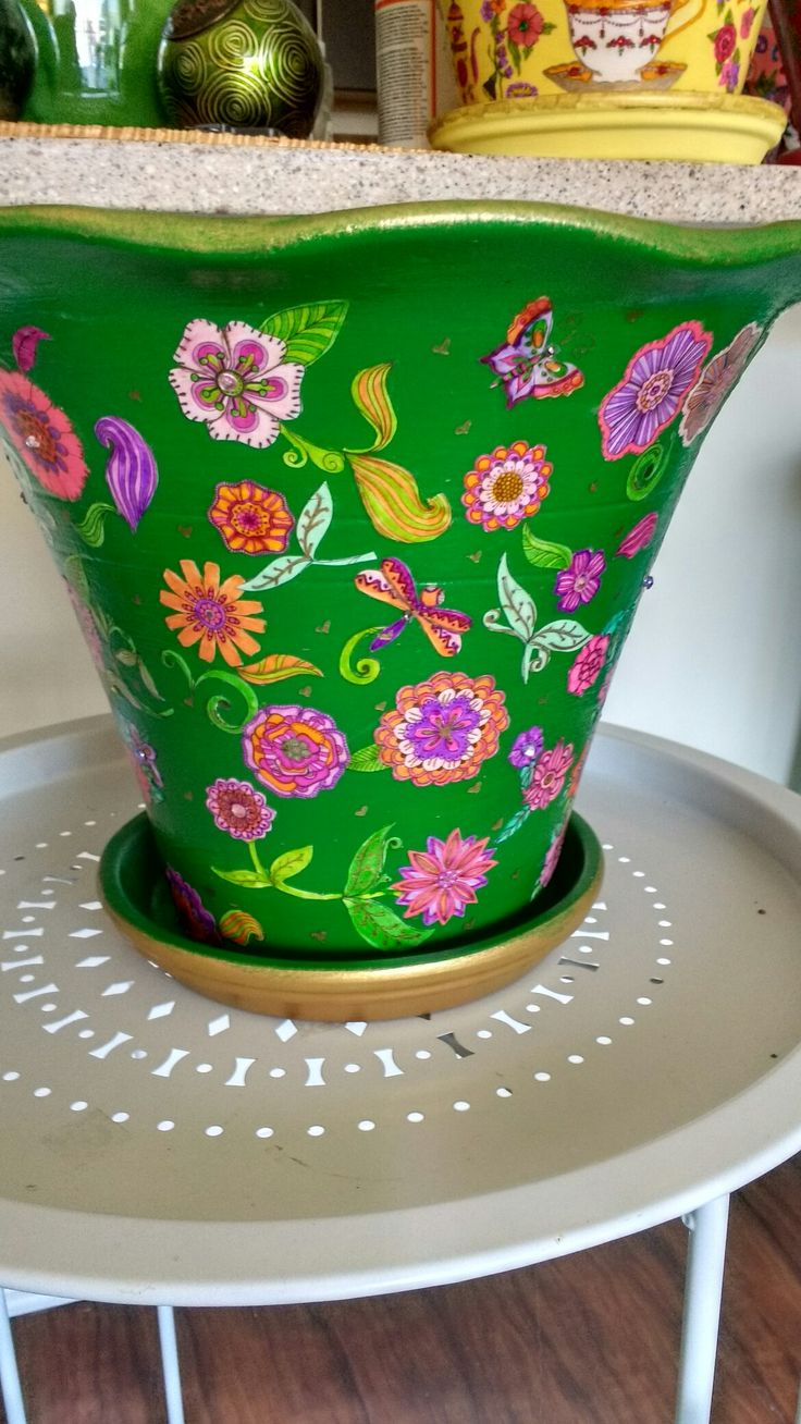 Pin by Darcy Raphael on made by me Flower pots, Planter