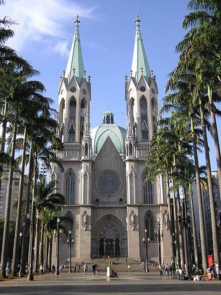 The Metropolitan Cathedral of Sao Paolo