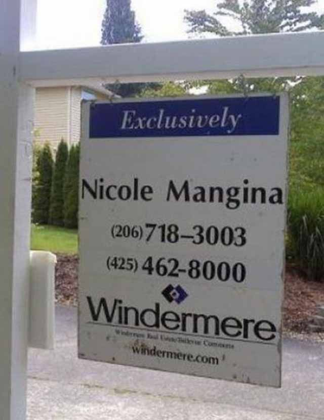 Sarcasm! Because beating the hell out of people is illegal!: Funny Real Estate Signs (15+ Pics)
