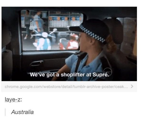 And on this very Australian sentence: | Literally Just 31 Hilarious Memes About Life In Australia