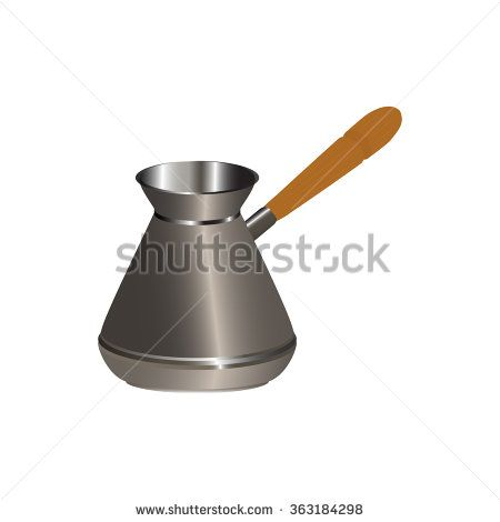 coffee-pot - stock vector
