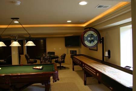 rec room lighting. rec room basement love lighting want that shuffleboard recreation pinterest basements and men cave rec i