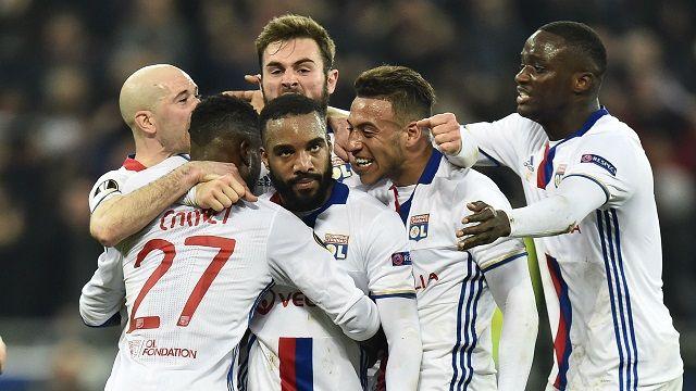 Cuplikan Gol Olympique Lyon vs Roma 4-2 Liga Europa