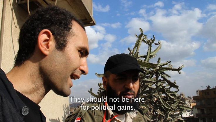 KHALID ABDALLA: They should not be here for political gains.