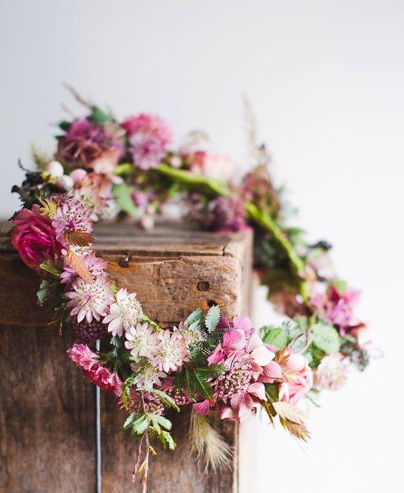 DIY floral crown (French) | La mariée aux pieds nus